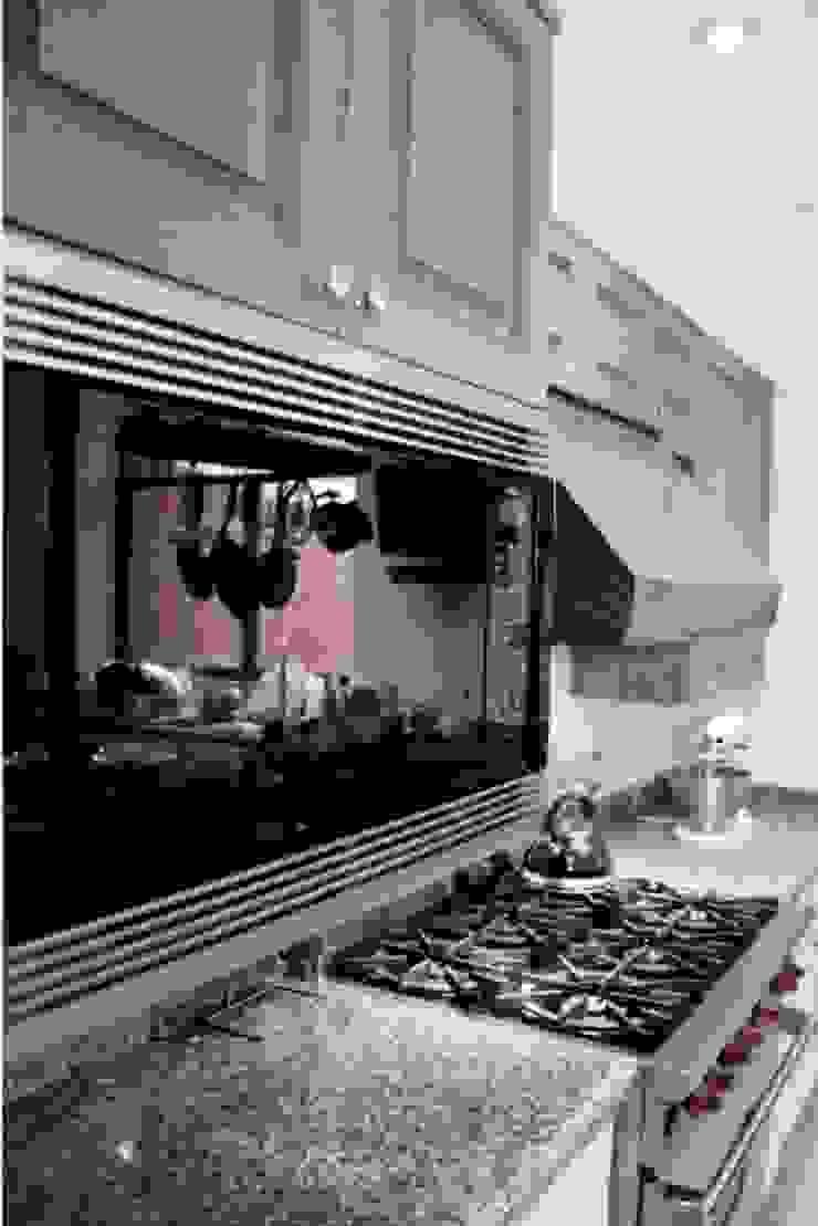 Estantería de cocina Cocinas modernas de Quinto Distrito Arquitectura Moderno Madera Acabado en madera