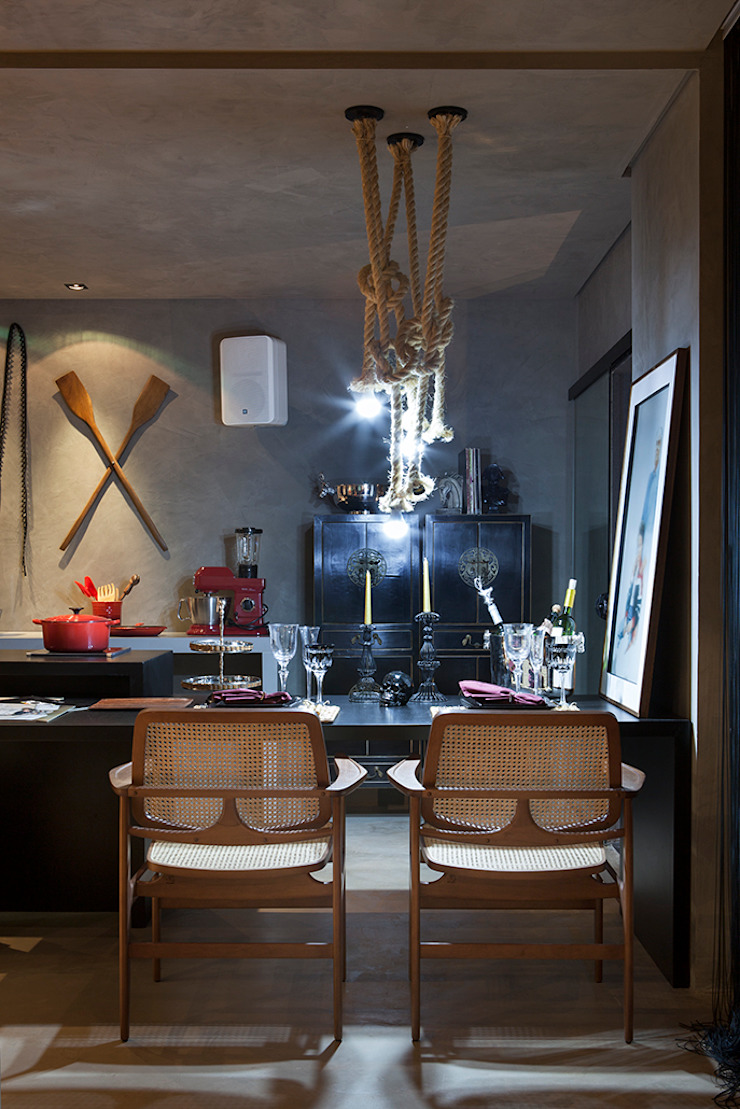 Eclectic style dining room by Gabriela Pereira Eclectic