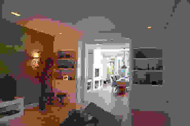 En-suite kast Boks architectuur Moderne woonkamers