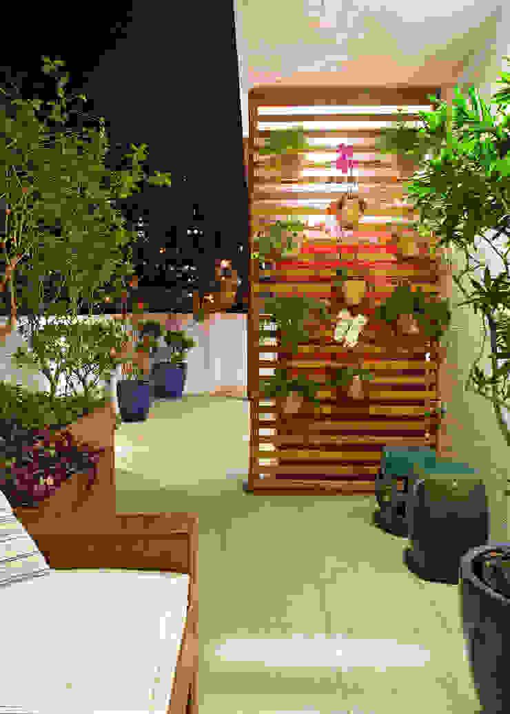 Cobertura .SC Varandas, alpendres e terraços ecléticos por Amis Arquitetura e Decoração Eclético