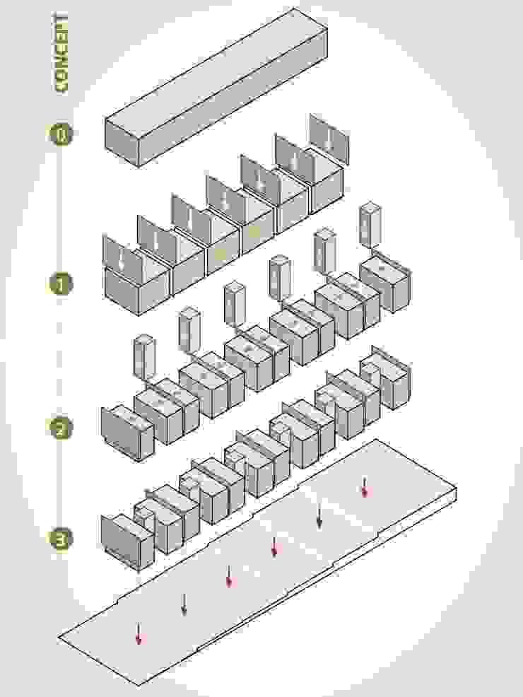 SOCIAL HOUSING – CONCORSO DI IDEE di Nau Architetti Moderno