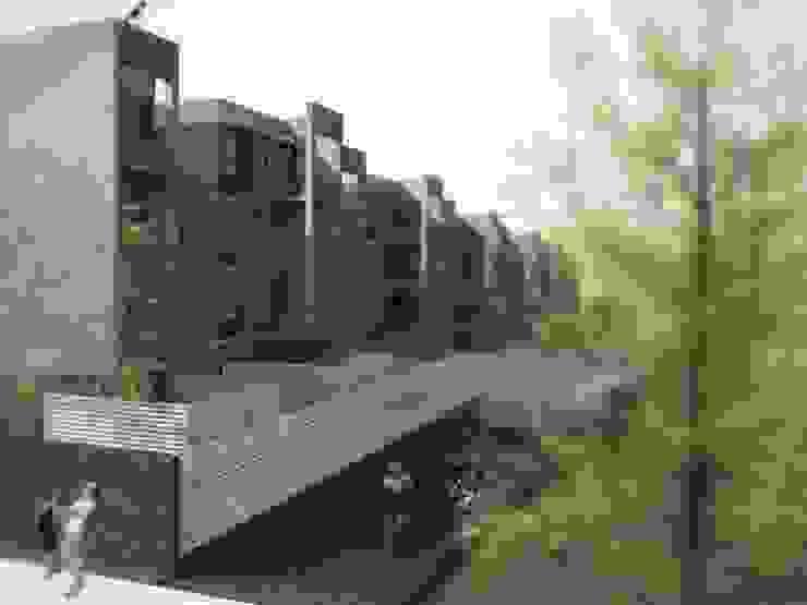SOCIAL HOUSING – CONCORSO DI IDEE Case moderne di Nau Architetti Moderno