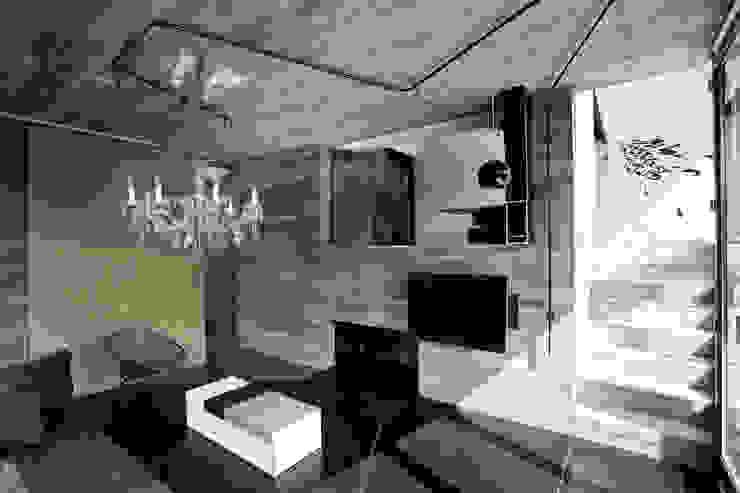 kaminzimmer und terrassenraum Moderne Wohnzimmer von reinhardtjung Modern