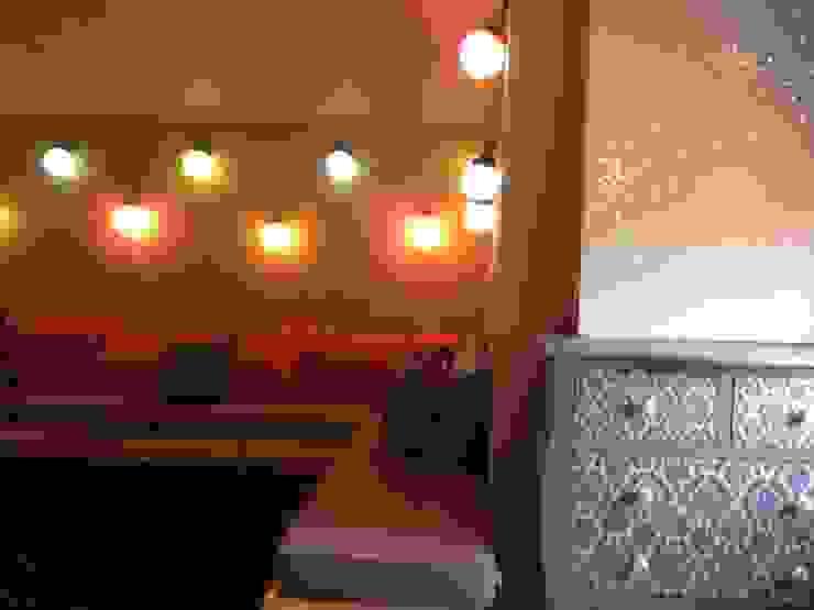Sala bohemia en tapanco Quinto Distrito Arquitectura Dormitorios infantiles Madera Multicolor