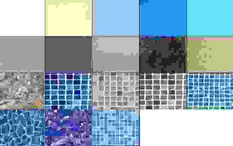 Gama de colores RENOLIT ALKORPLAN Piscinas de estilo moderno de RENOLIT ALKORPLAN Moderno
