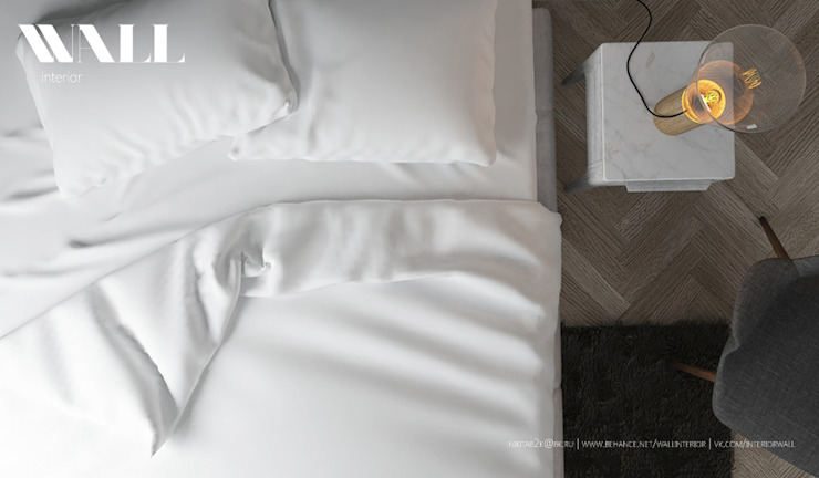 Квартира для молодой семьи, ЖК <q>Премьер Палас</q> Спальня в стиле минимализм от ДИЗАЙНЕР ИНТЕРЬЕРА САНКТ-ПЕТЕРБУРГ Минимализм