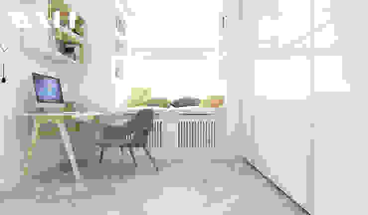 Квартира для молодой семьи, ЖК <q>Премьер Палас</q> Детская комнатa в стиле минимализм от ДИЗАЙНЕР ИНТЕРЬЕРА САНКТ-ПЕТЕРБУРГ Минимализм