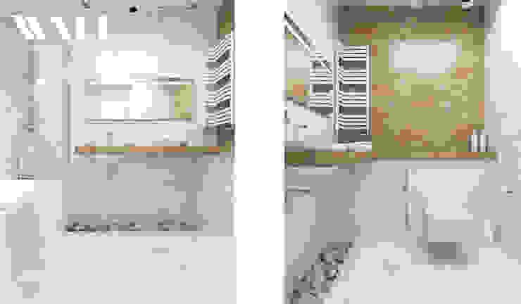 Квартира для молодой семьи, ЖК <q>Премьер Палас</q> Ванная комната в стиле минимализм от ДИЗАЙНЕР ИНТЕРЬЕРА САНКТ-ПЕТЕРБУРГ Минимализм