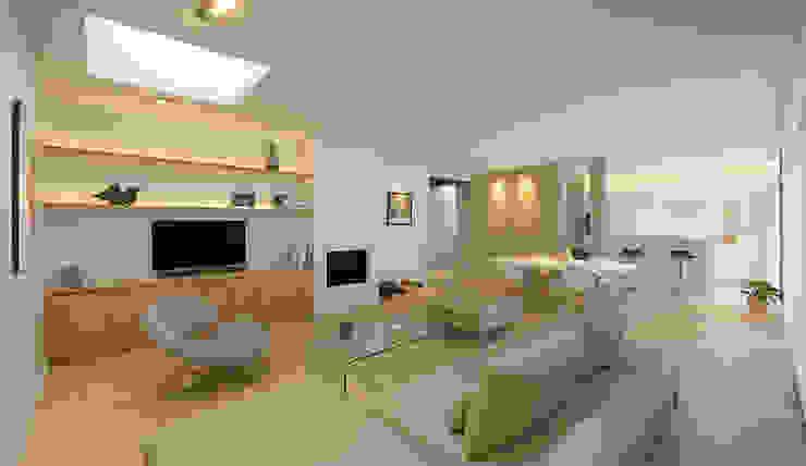 Maison M. G Salon moderne par Studio SD Moderne