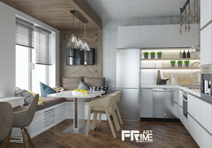 'PRimeART' Industrial style kitchen