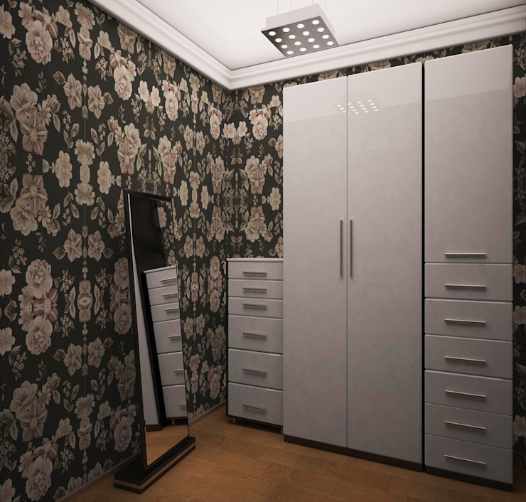 2-х комнатная квартира 78.50m² Коридор, прихожая и лестница в колониальном стиле от PLANiUM Колониальный