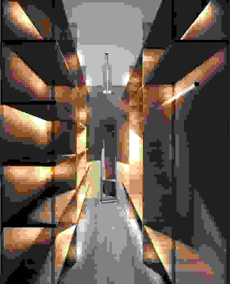 2-х комнатная квартира 78.50m² Гардеробная в колониальном стиле от PLANiUM Колониальный