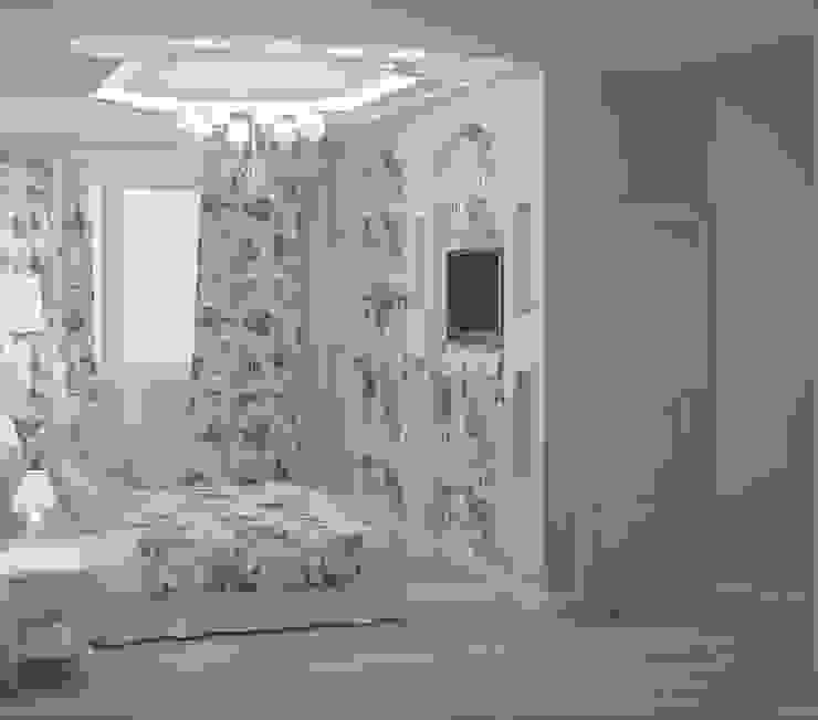 Спальни Спальня в стиле кантри от ООО ПрофЭксклюзив Студия дизайна интерьеров Кантри