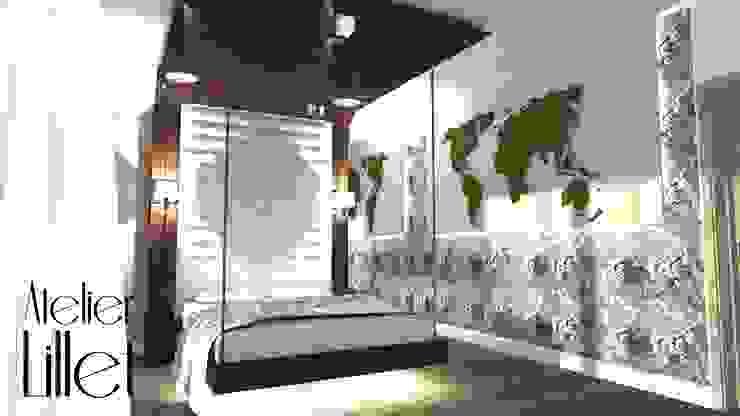 Modern Bedroom by ATELIER LILLET Karolina Lewandowska Modern