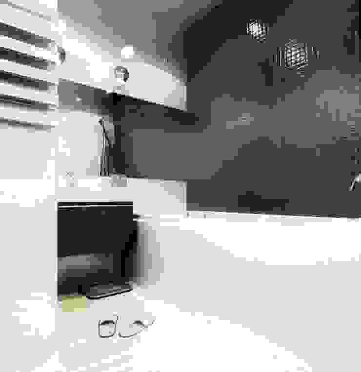 2-х комнатная квартира 61.50m² Ванная в стиле лофт от PLANiUM Лофт