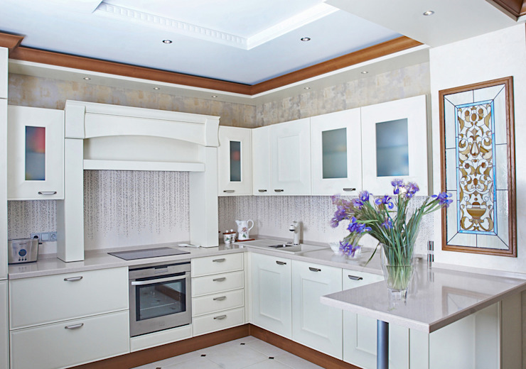 Квартира 210 м.кв. Кухня в классическом стиле от Соловьева Мария Классический