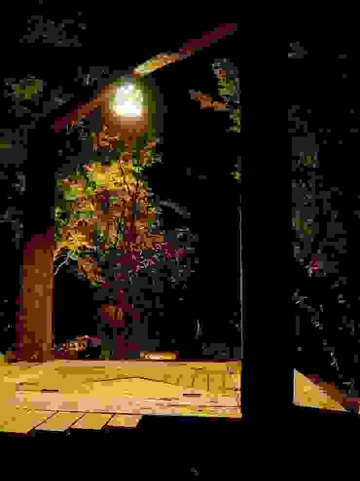 オリジナル、デッキ照明 オリジナルな 庭 の 木村博明 株式会社木村グリーンガーデナー オリジナル