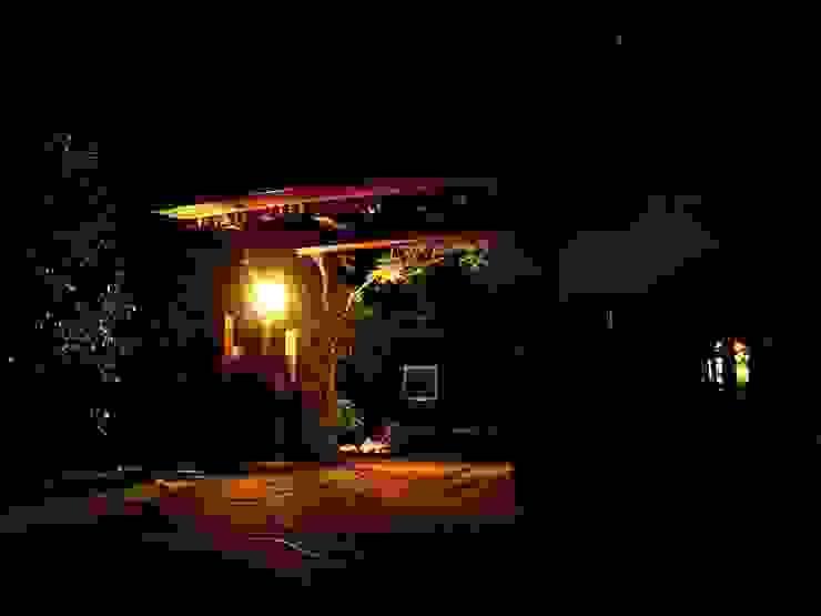 門の夜景 オリジナルな 庭 の 木村博明 株式会社木村グリーンガーデナー オリジナル