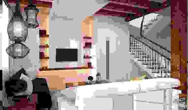 Интерьер дома в колониальном стиле Гостиная в колониальном стиле от GM-interior Колониальный