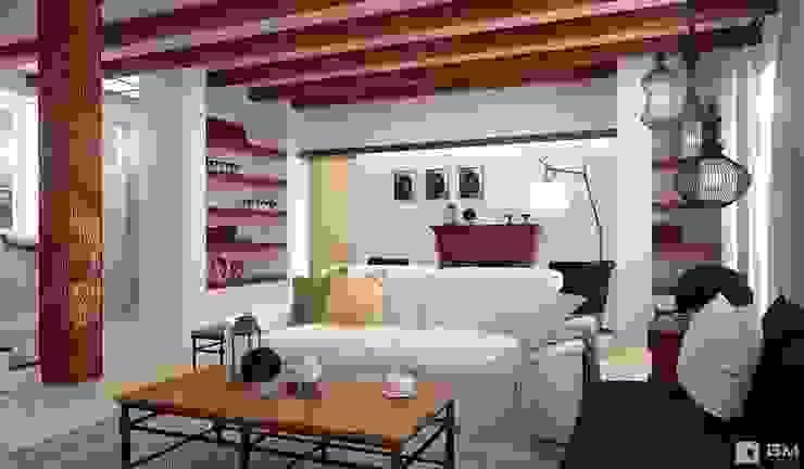 Salas de estilo colonial de GM-interior Colonial