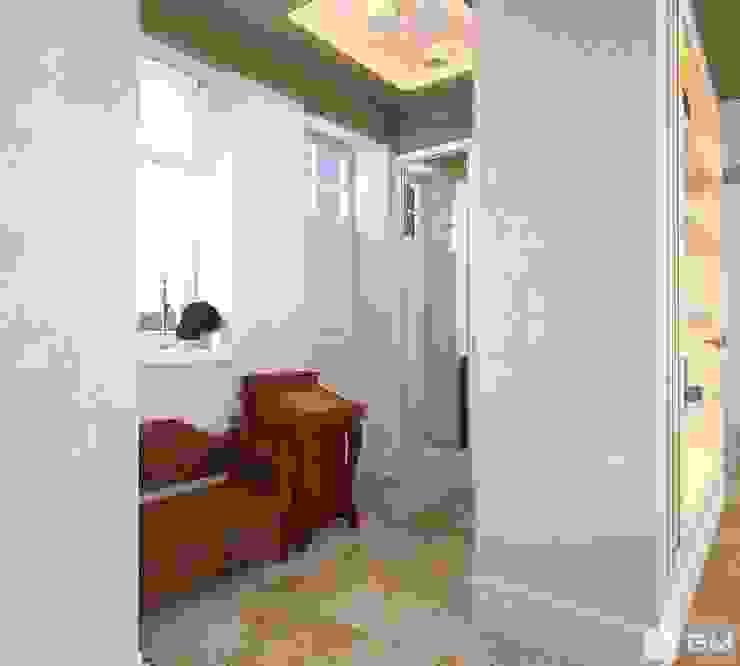 Интерьер дома в колониальном стиле Коридор, прихожая и лестница в колониальном стиле от GM-interior Колониальный