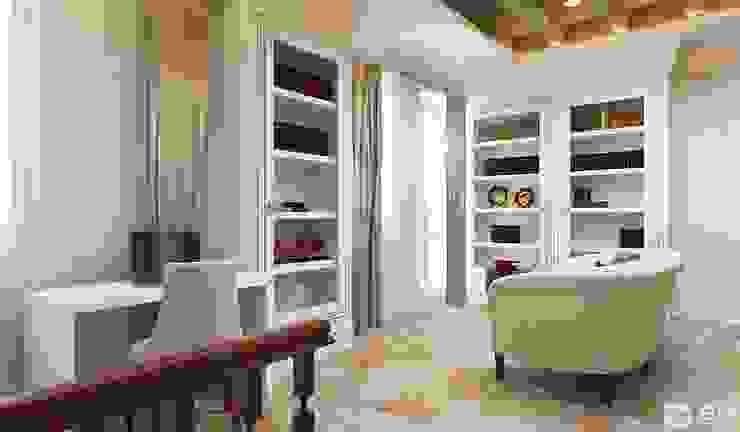 Интерьер дома в колониальном стиле Рабочий кабинет в колониальном стиле от GM-interior Колониальный