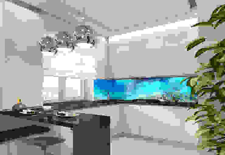 Дизайн кухни Кухня в стиле модерн от DIZajio Модерн