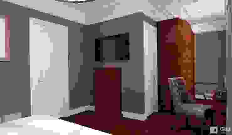Интерьер дома в колониальном стиле Спальня в колониальном стиле от GM-interior Колониальный
