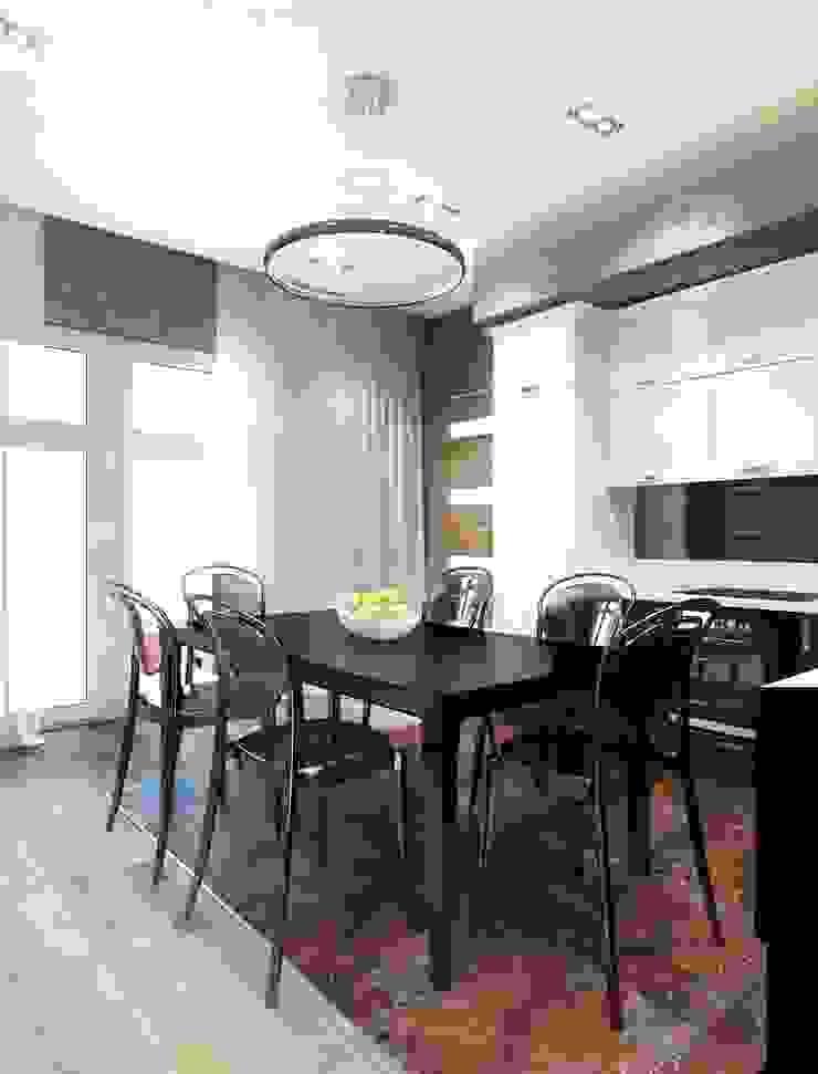 Квартира ЖК «Парк-холл Горький» Столовая комната в стиле модерн от UKRINTEL Модерн