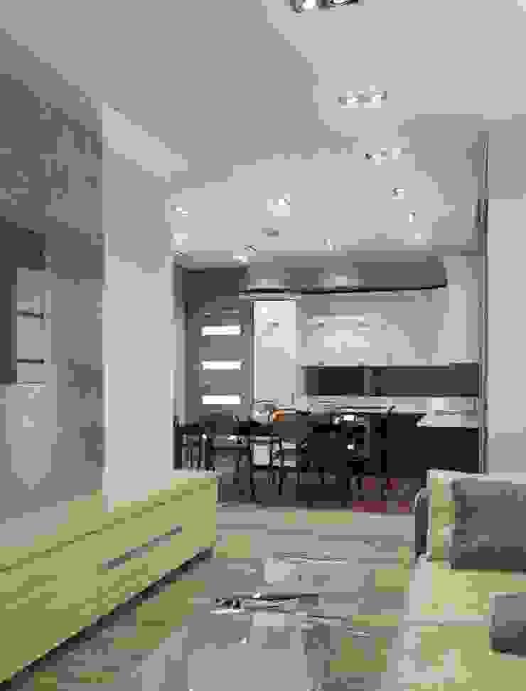 Квартира ЖК «Парк-холл Горький» Гостиная в классическом стиле от UKRINTEL Классический