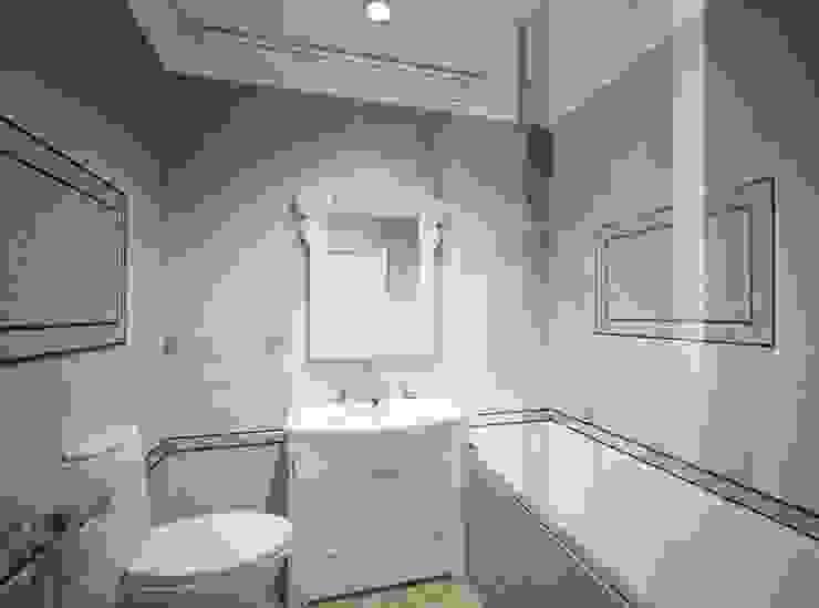 1-но комнатная квартира 61.15m² Ванная в классическом стиле от PLANiUM Классический