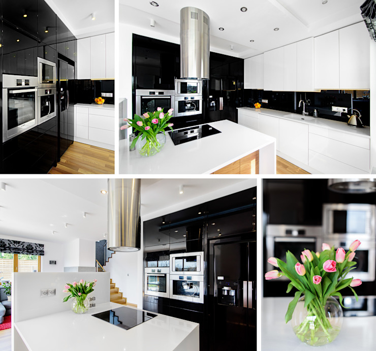 Modern kitchen by homify Modern