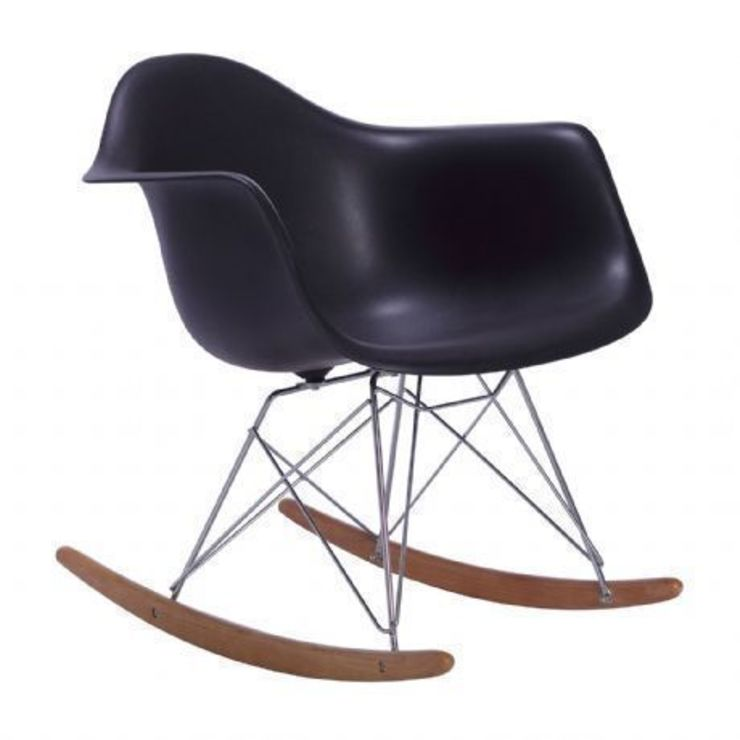 Silla Balancín TOWER ARMS -Color Edition-. Inspiración RAR Rocking Chair de Charles & Ray Eames de SuperStudio Online Moderno
