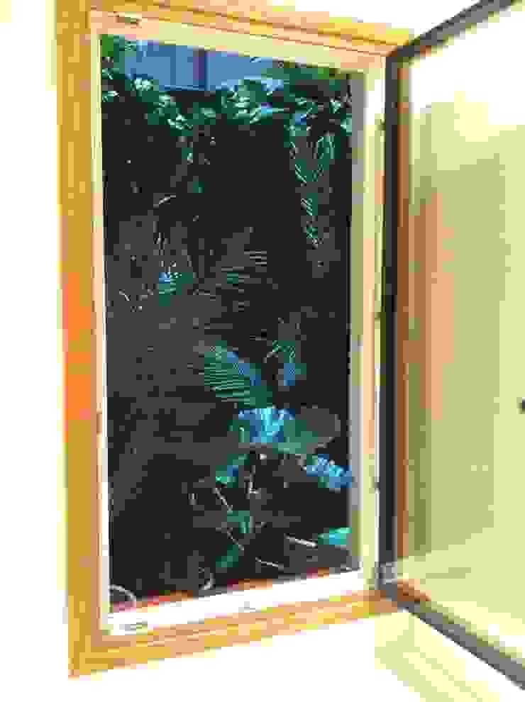 Patios interiores en Hotel Margot Barcelona Balcones y terrazas de estilo tropical de Asilvestrada Tropical