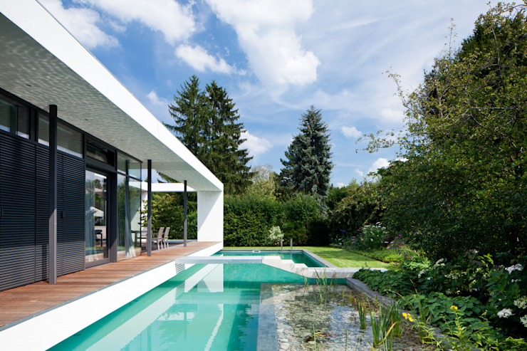 Pool by Dettling-Architekten, Modern