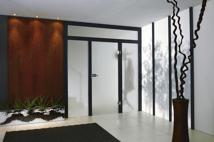 Produkte – Glastüren Holz Pirner GmbH Moderner Flur, Diele & Treppenhaus