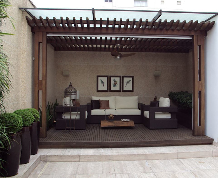 Modern style gardens by homify Modern