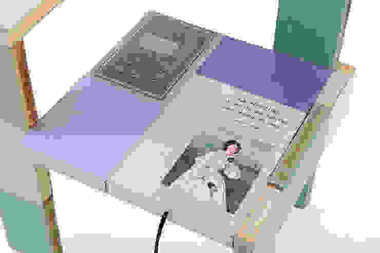 ode aan Steltman: modern  door BOOKED  by Jacqueline le Bleu, Modern