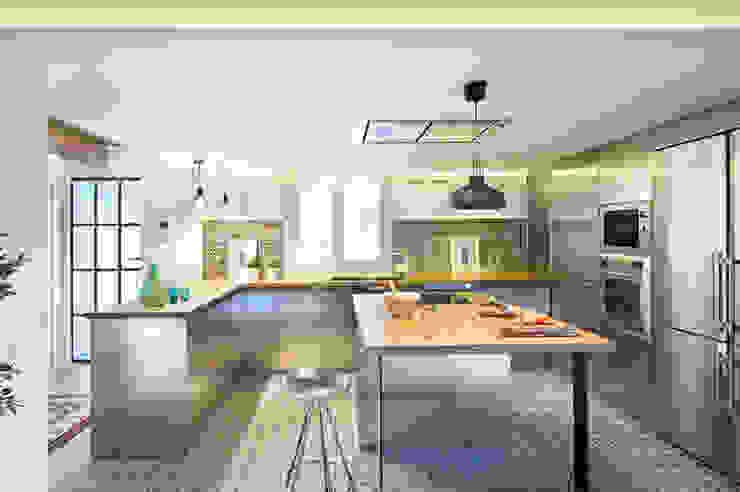 Kitchen by Egue y Seta, Modern