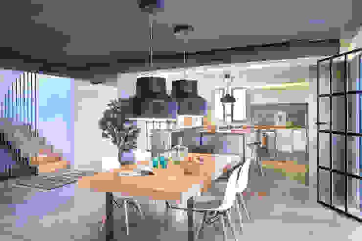 Ruang Makan Modern Oleh Egue y Seta Modern