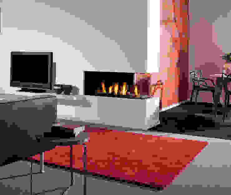 Kominek gazowy Kwline Aspect C L: styl , w kategorii Salon zaprojektowany przez TAPIS.PL,Nowoczesny