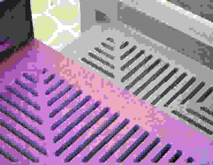 APOTEMA Estudio de Diseño: minimalist tarz , Minimalist Orta Yoğunlukta Lifli Levha