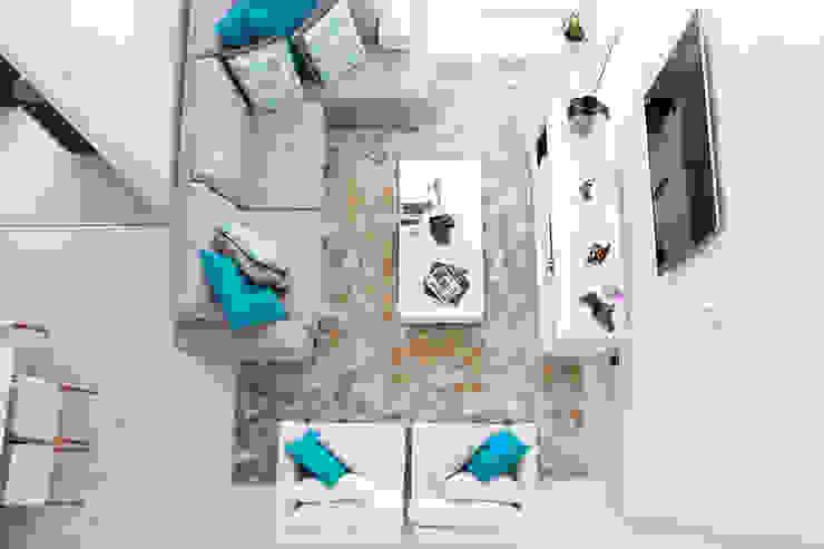 Casa FD Salas de estar modernas por SAA_SHIEH ARQUITETOS ASSOCIADOS Moderno