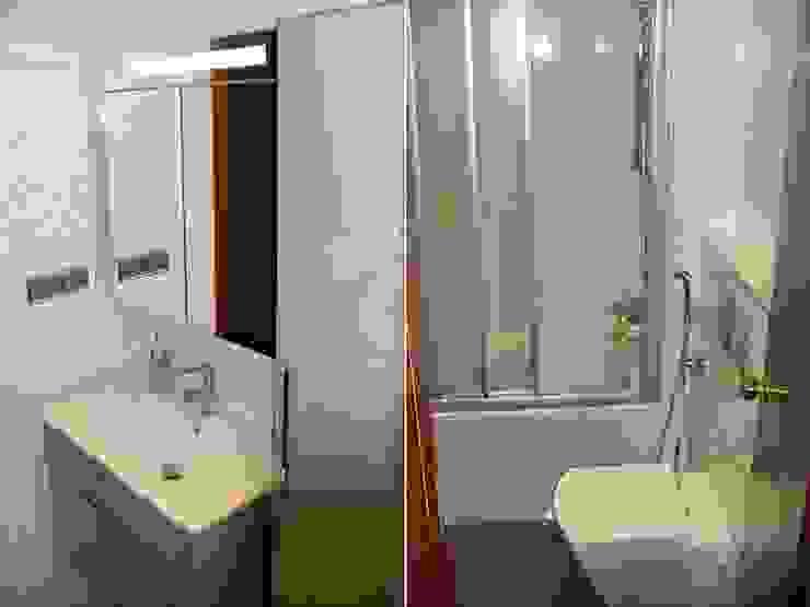 Reformas de baños y aseos Baños de estilo moderno de Reyes & Reyes reformas y servicios Moderno