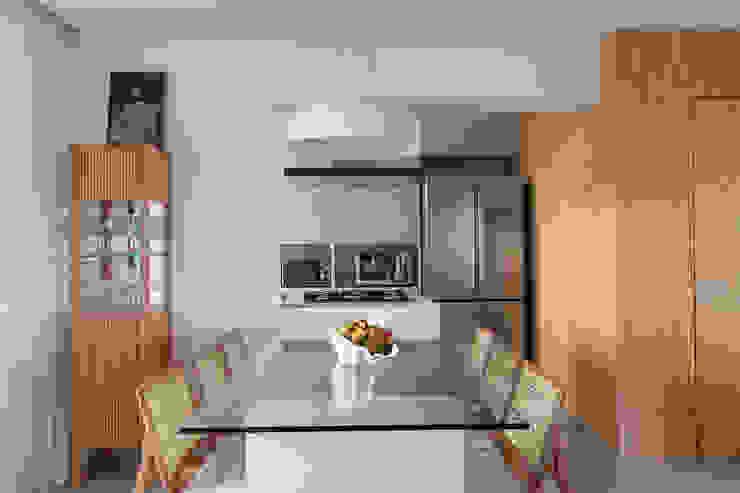 Haruf Arquitetura + Design Comedores modernos