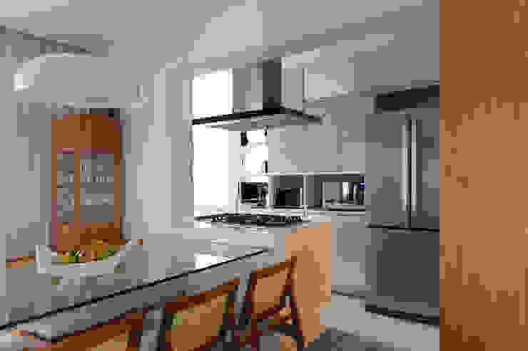 Cozinha Cozinhas modernas por Haruf Arquitetura + Design Moderno