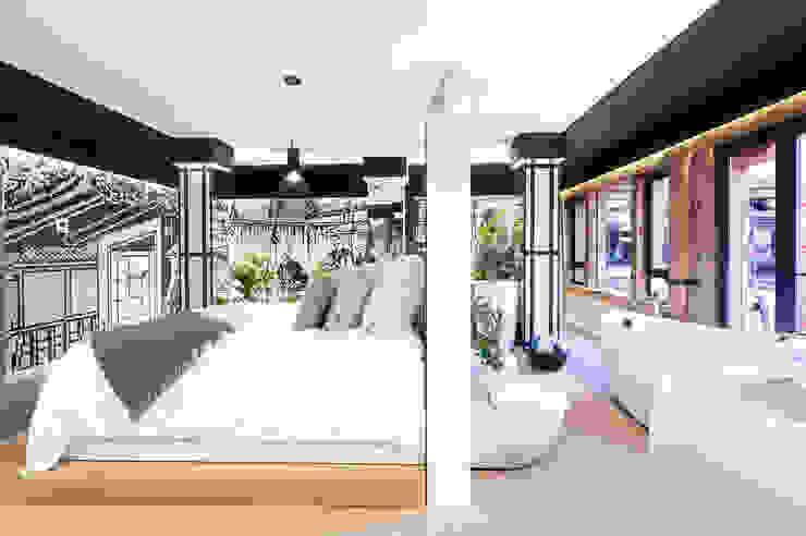 Kazuo Suite- Casa Decor 2015 Dormitorios de estilo asiático de Egue y Seta Asiático