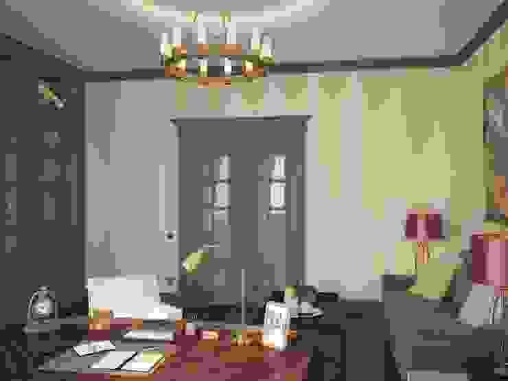 Klassische Arbeitszimmer von Студия дизайна Марии Губиной Klassisch