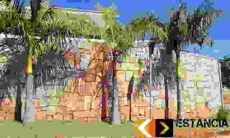 Muro de Pedra Rachão - Estância Pedras Estância Pedras Paredes e pisos rústicos
