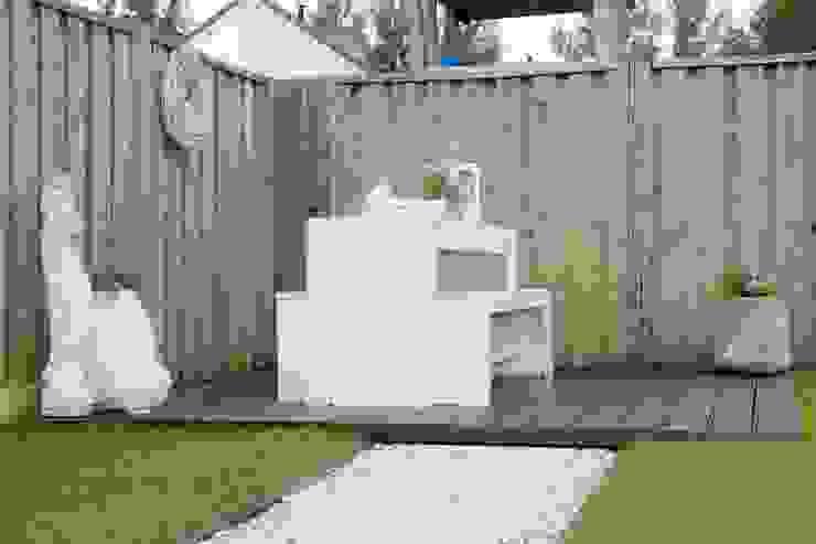 moderne tuin:  Tuin door Hoveniersbedrijf de bruin,